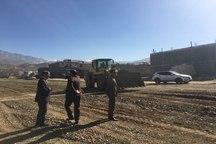 ساخت بزرگترین خیابان طرح تفصیلی شهر یاسوج آغاز شد