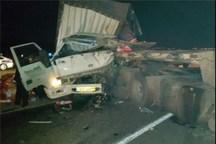 تصادف در جاده اهواز - شوش یک کشته بر جا گذاشت