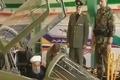 روحانی پشت جنگنده ی تمام ایرانی کوثر نشست