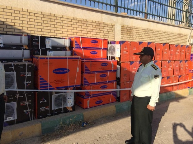 محموله کالای قاچاق در گتوند کشف شد
