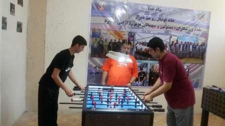 هفته دوم مسابقات فوتبال دستی فارس  شیرازی ها اول شدند