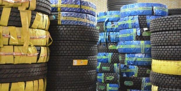 ۲۵۰ میلیون تومان لاستیک قاچاق در کنگاور کشف شد