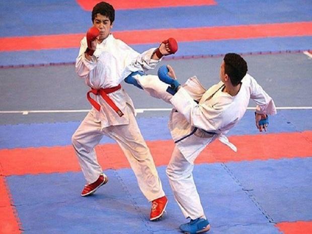 مسابقات کاراته قهرمانی کشور در ایذه آغاز شد