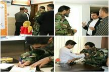"""بازدید مشاور فرمانده کل سپاه از بنیاد نیکوکاری """"دستهای مهربان"""""""