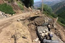 راه دسترسی 3 روستای دورافتاده تکاب بازسازی شد