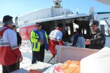 کمک های غذایی و دارویی به روستای آق سو خلخال رسید