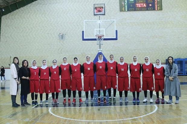 تیم بسکتبال بانوان صدرای شیراز به مصاف نارسینای تهران می رود