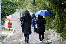 بارش باران تا دوشنبه آینده در همدان ادامه دارد