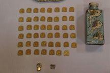 کشف ۴۷ قطعه پلاک تاریخی دوره قبل از اسلام در زنجان