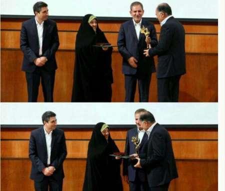 استاندار سیستان و بلوچستان جایزه نخست ملی محیط زیست ایران را کسب کرد