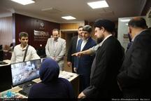 بازدید سید حسن خمینی از ایرنا-2