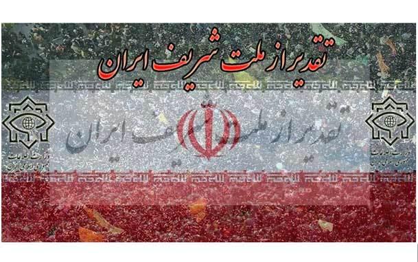 تقدیر وزارت اطلاعات از ملت شریف ایران