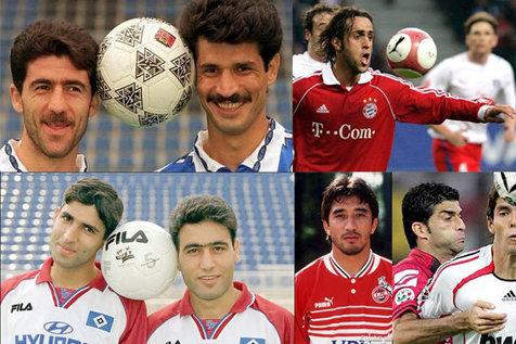 نفس فوتبال ایران در اروپا به شماره افتاده