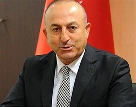 وزیر امور خارجه ترکیه در ایران