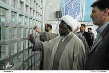 ادای احترام رهبر شیعیان نیجریه نسبت به امام خمینی(س)