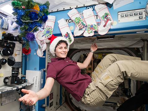 کریسمس در ایستگاه بین المللی فضایی