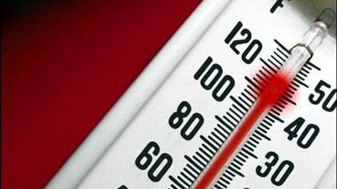 افزایش دما در کشور