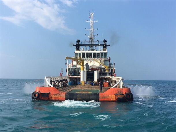 آلودگیهای نفتی خلیج فارس پاکسازی شد