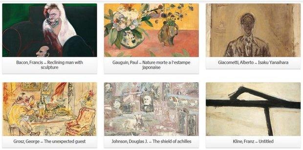 نمایش مجازی آثار گنجینه موزه هنرهای معاصر