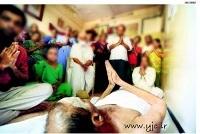 عجیب ترین روش «روزه داری» در هند +عکس