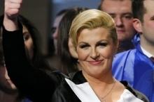 آغاز به کار نخستین رییس جمهوری زن کرواسی