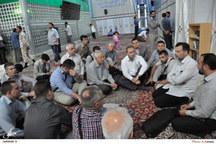 ادای احترام ائمه جماعات شهر کوزلای بوسنی و هرزگوین به امام راحل