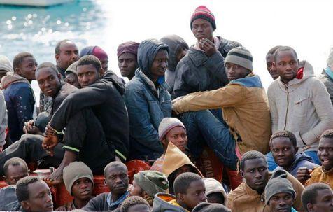 نجات ۱۵۰۰ مهاجر در دریای مدیترانه