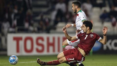 قطر با ۱۶ بازیکن خارجی مقابل ایران