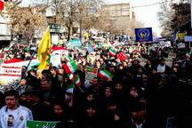 راهپیمایی پرشور مردم آذربایجان غربی در طلیعه بهار چهلم انقلاب  مردم: همچنان انقلابی هستیم