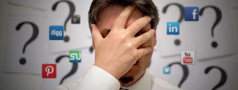 ۹ اشتباه دردسر ساز در کسب و کار با شبکه های اجتماعی