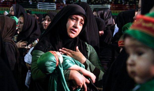 همایش شیرخوارگان حسینی در خراسان شمالی برگزار شد