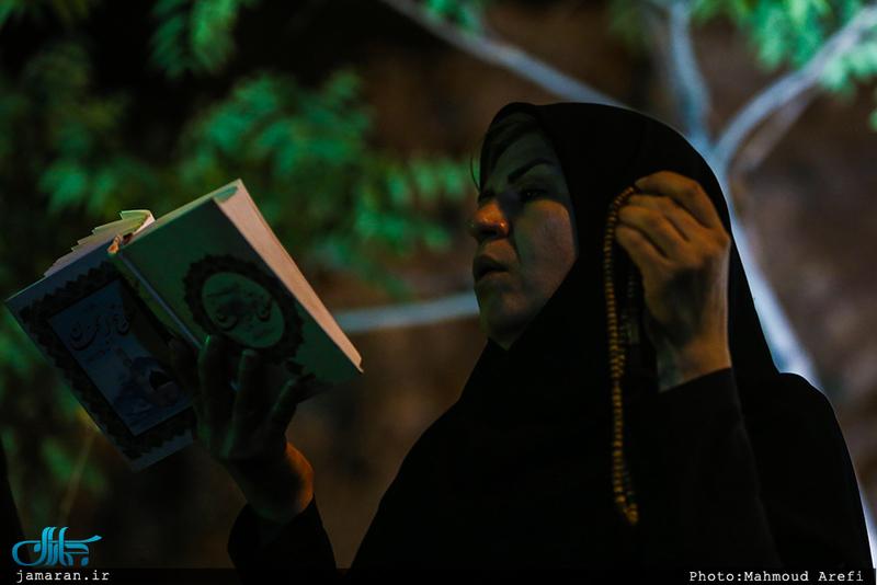 مراسم احیای شب نوزدهم ماه مبارک رمضان در کهف الشهدا