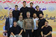 خوزستان قهرمان مسابقات وزنه برداری جوانان کشور در مراغه شد