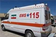 یک مرد 30 ساله در پاساژ مهستان بدلیل سوختگی روانه بیمارستان شد