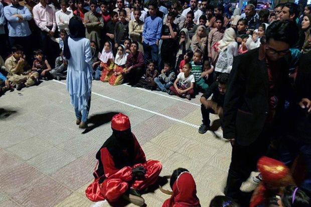 آثار برتر جشنواره تئاتر خیابانی سیستان و بلوچستان معرفی شدند