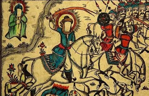 نقاشی قهوهخانهای؛ راوی عاشورا