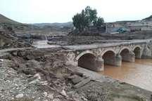 سیل 210 میلیارد ریال خسارت به آثار تاریخی لرستان وارد کرد