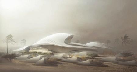 امارات پذیرای اقامتگاه فوق مدرن زیستمحیطی
