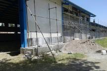 ساخت استخر نیمه کاره آستارا بعد از 10 سال وقفه آغاز شد