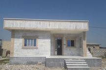 آغاز ساخت واحد مسکونی برای خانواده ۳ معلولی سیلزده در شیروان