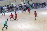 رقابت های فوتسال «جام رمضان» در مهرستان درحال برگزاری است