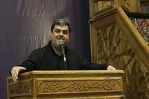 مداحی حاج حسین هوشیار در مراسم شب شهادت حضرت فاطمه زهرا(س) در حرم امام خمینی