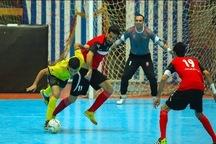 تیم سوهان محمد سیما قم به رده سوم لیگ برتر فوتسال صعود کرد