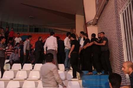 حاشیه های جشن پیراهن تیم فوتبال سیاه جامگان در مشهد