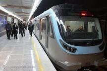 افزایش ساعت سرویسدهی خطوط قطار شهری مشهد در روز طبیعت
