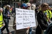 بیست و هشتمین شنبه اعتراضی جلیقه زردها+ تصاویر