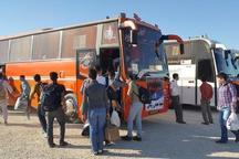 400 بسیجی کنگان به اردوی راهیان نور اعزام شدند