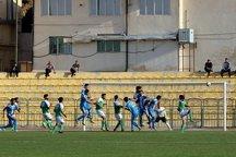 تساوی تیم فوتبال صبای قم و برق شیراز