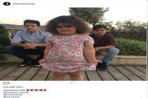 علی کریمی عکسی از فرزندانش در اینستاگرام منتشر کرد