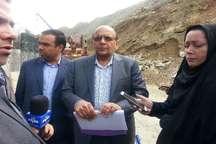 پیشرفت 85 درصدی پروژه ملی آزادراه تهران - شمال